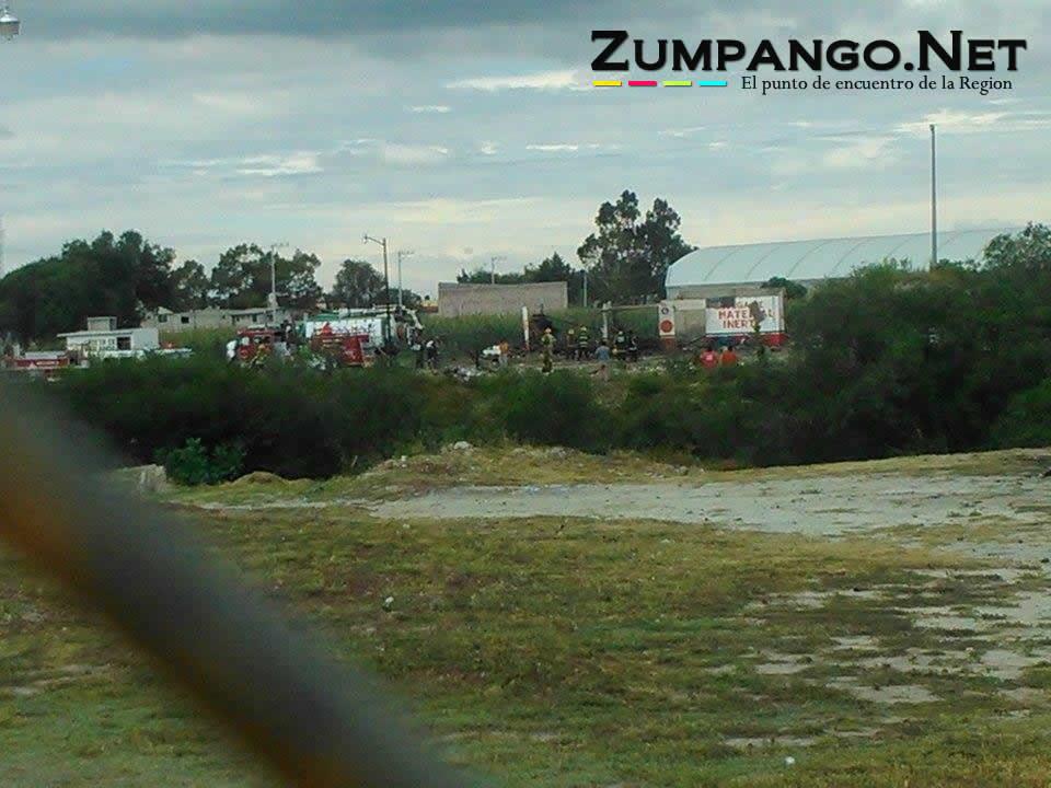 Estalla taller pirotecnico en San Pedro de la Laguna , Zumpango