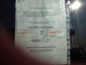 Detectan transportistas del Edomex con permisos falsos