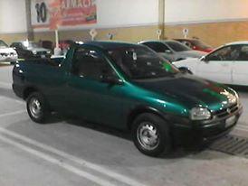 Chevy Pick up color verde robada en Zumpango