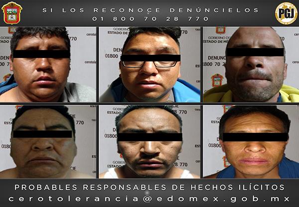Video: Vinculan a proceso a seis sicarios capturados en Zumpango