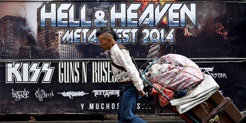 Ya es oficial cancelación del Hell and Heaven