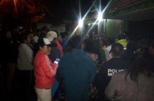Intentan linchar a presuntos ladrones en el Melchor Ocampo