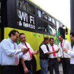 ¿Transporte público Wi-Fi?