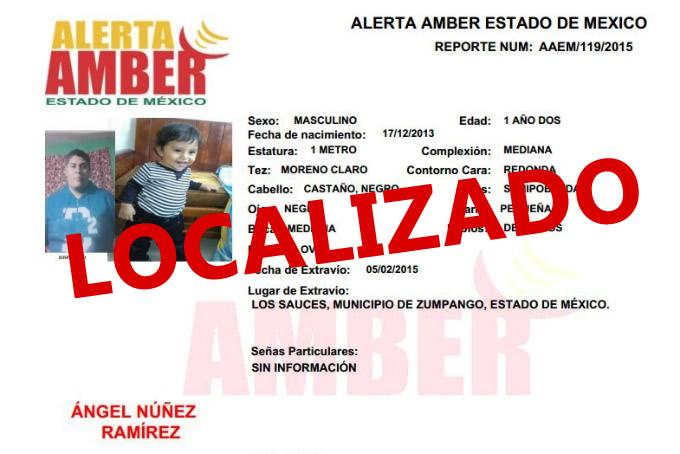 Localiza PGJEM en Morelos a menor reportado como desaparecido en Zumpango