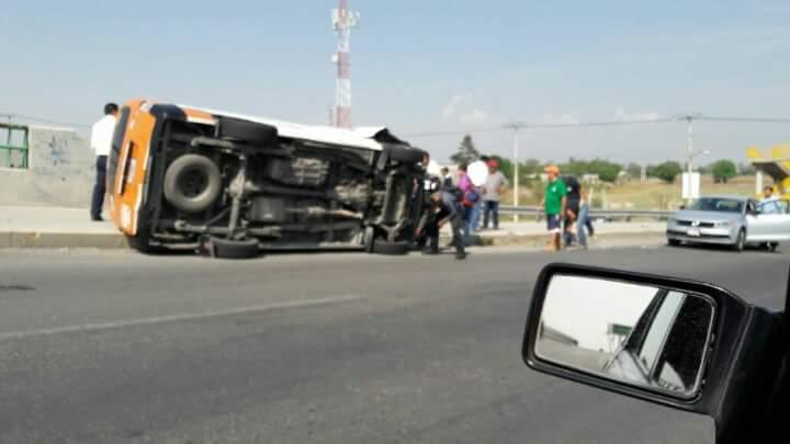 Accidente en el viaducto bicentenario